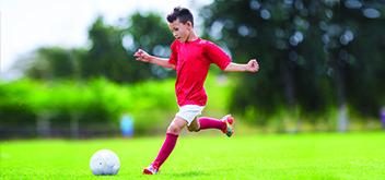 Practicar deportes requiere buena vista