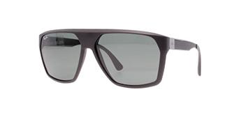Gafas para solcon la parte superior plana y moderna